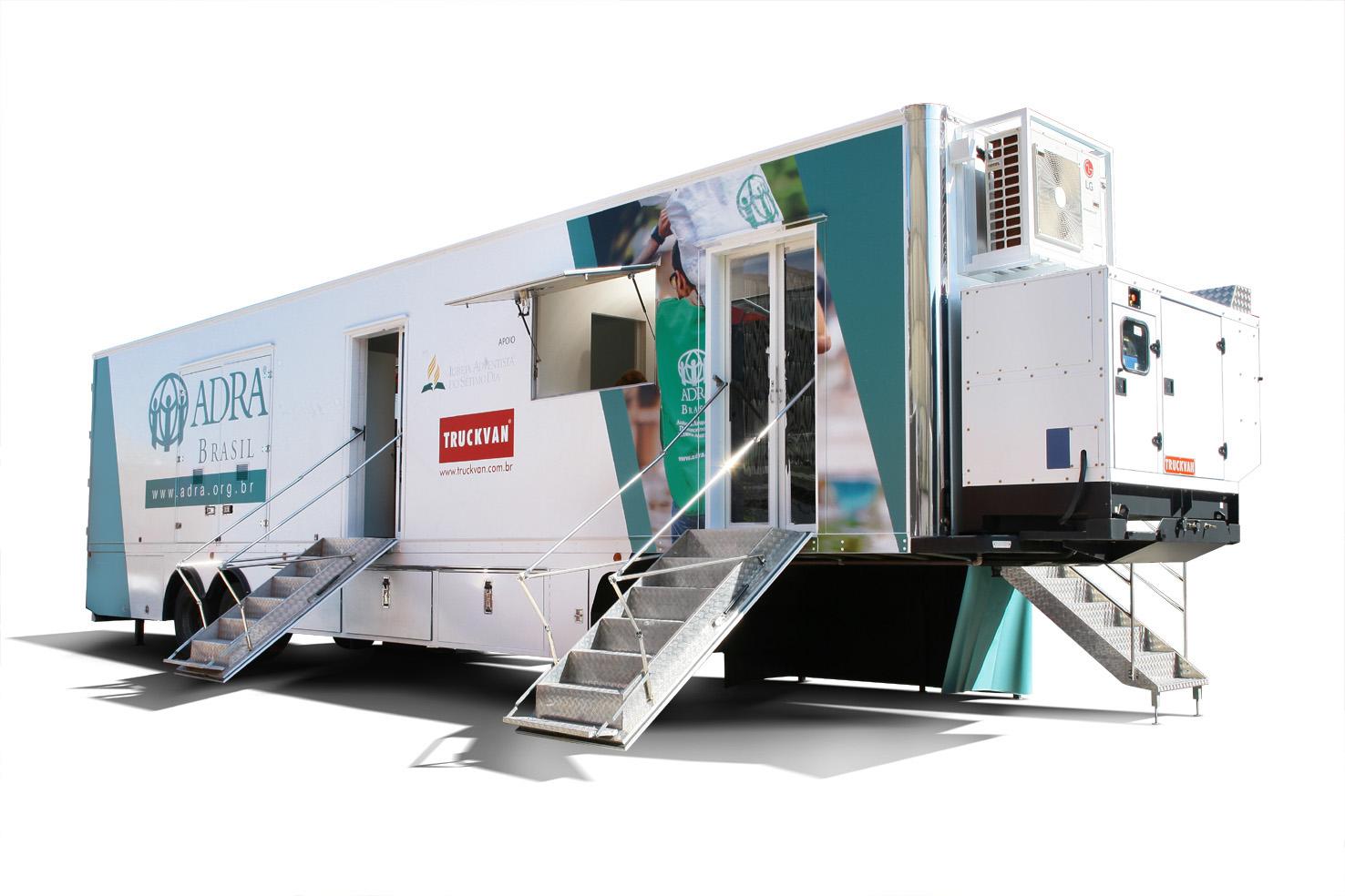 caminhão ADRA Brasil